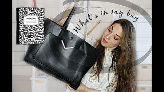 What's in my bag - Uni Edition (deutsch)