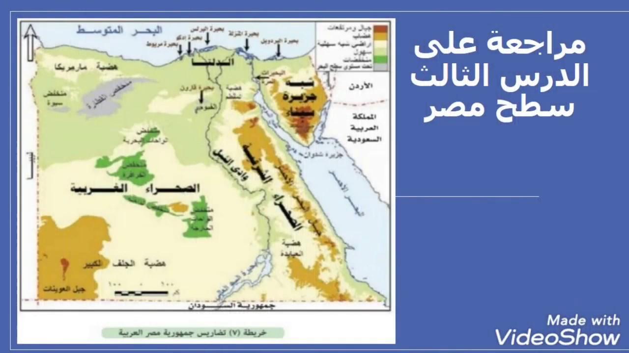 Photo of تلخيص درس سطح مصر| مراجعة على الدرس وسؤال وجواب على ماسبق – اسئلة واجوبة