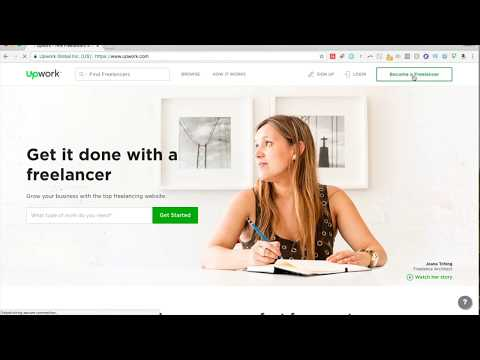 How to Sign up for Upwork