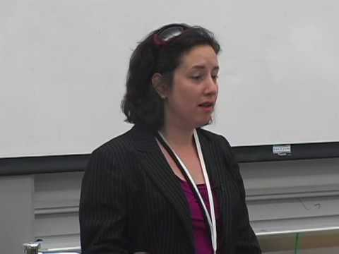Eleanor Traubman (Creative Times Blog) at the Brooklyn Business Summit at Polytech NYU