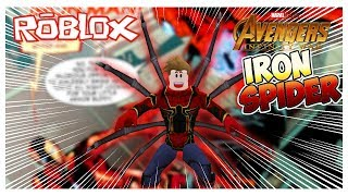 Tutorial such as IRON SPIDER in ROBLOX Robloxian HighSchool SamyMOro