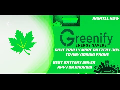 Download - Greenify Battery Saver- For Any Android Phone-Hibernate Apps(Save Battery More Than 30%)
