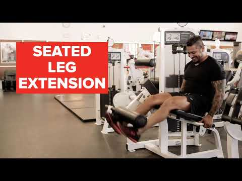 GoodLife Fitness: How To Use The Leg Extension And Curl Machines