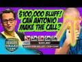 Antonio Esfandiari Faces $100,000 Bluff! What to do?