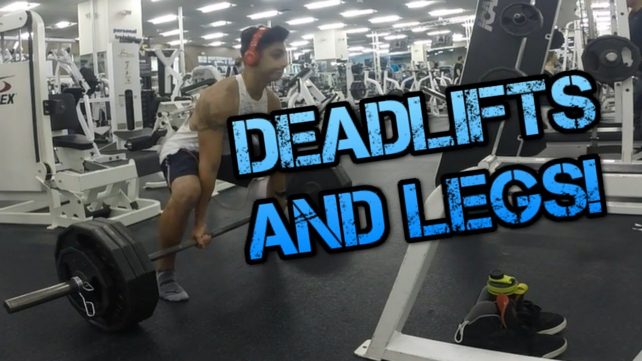 Image result for deadlifts on leg day