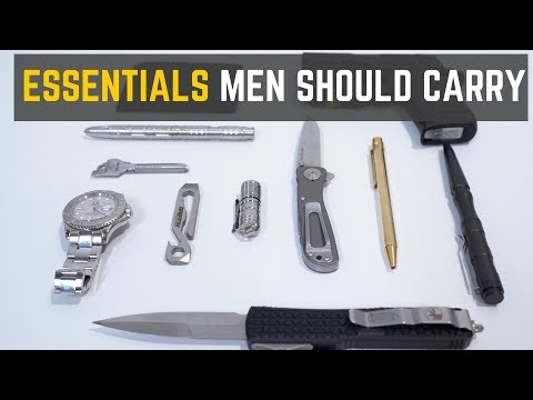 Top 5 EDC Accessories Every Man Should Carry
