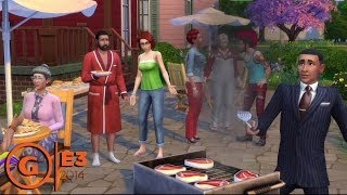 The Sims 4 - E3 2014 Preview at EA Press Conference