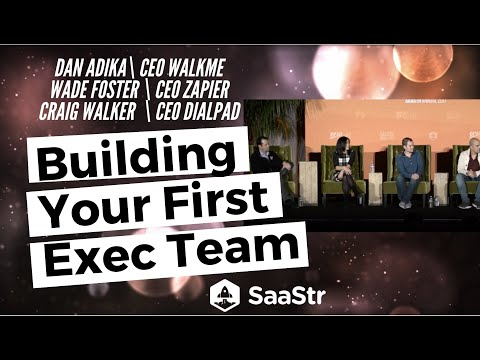 How to Build Your First Management Team
