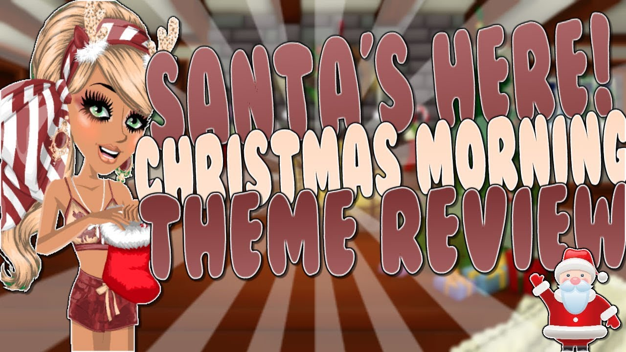 CHRISTMAS MORNING THEME REVIEW -MSP - YouTube