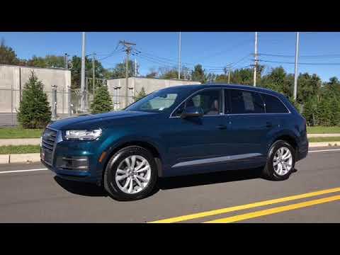 2018 Audi Q7 Galaxy Blue Metallic Youtube