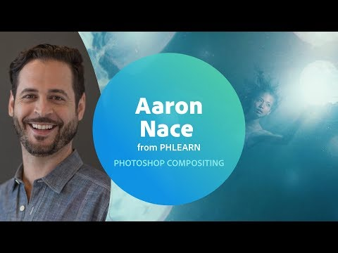 Photoshop Tips and Tricks with Aaron Nace from PHLEARN (1/3) | Adobe Creative Cloud