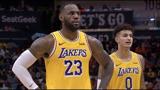 Los Angeles Lakers vs New Orleans Pelicans - 1st Half Highlights | November 27, 2019 | NBA 2019-20