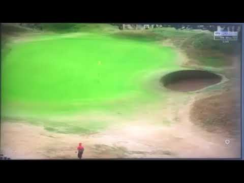 Jordan Spieth Insane 1st hole Drive - The Open