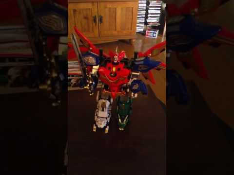 Ramble on the Megazord from the Chinese Sentai shoe Celestial Warriors
