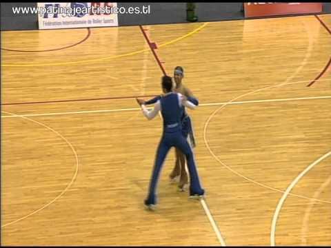 TOP 4. ALESSANDRO SPIGAI & ANNA REMONDINI. MUNDIAL AUCKLAND 2012