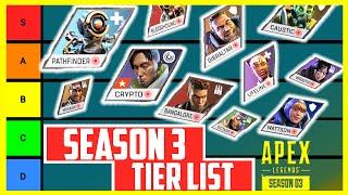 Apex Legends Season 3 Tier List - All Characters Ranked | Apex Meta Report