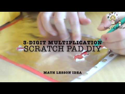 Teaching Tip: DIY Scratch Pad