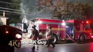 Toronto: Firemen break windows and rip house apart 10-19-2015
