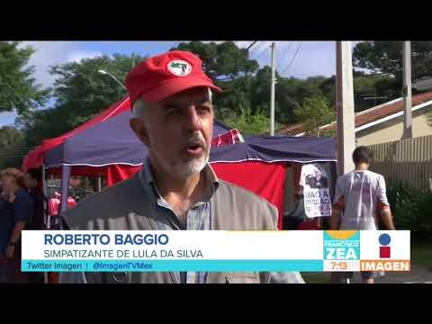 Campamento para liberar a Lula Da Silva, ex presidente de Brasil | Noticias con Francisco Zea