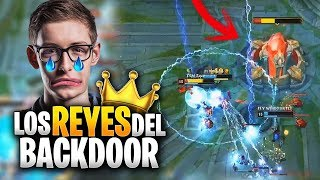 ESTOS FINALES SOLO PASAN en NA!! *BACKDOOR* | TSM vs FLY | LCS NA Resumen (LVP)