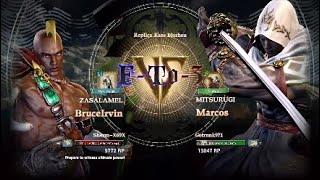 ???? Soulcalibur VI ~ Sherm-X69X [Zasalamel] vs Gotrunk971 [Mitsurugi] Ft3~????