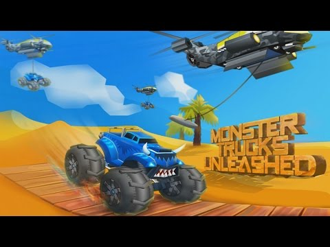 Monster Trucks Unleashed Android GamePlay Trailer (1080p) [Game For Kids]