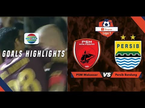 PSM Makassar (3) vs Persib Bandung (1) - Goal Highlight | Shopee Liga 1
