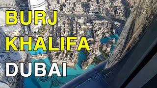 BURJ KHALIFA EM DUBAI - O MAIOR PRÉDIO DO MUNDO