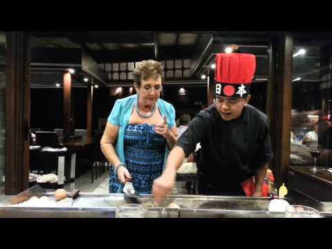 hibachi chef tricks full show