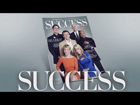 An Exclusive Look At SUCCESS Magazine's Shark Tank Cover Shoot