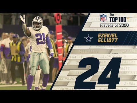 #24: Ezekiel Elliott (RB, Cowboys) | Top 100 NFL Players of 2020