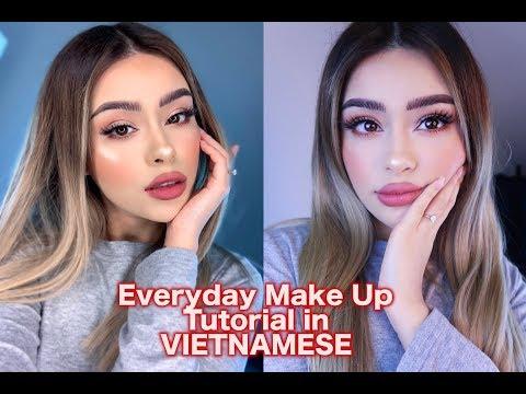 Everyday Make Up Tutorial in VIETNAMESE!