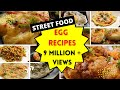 Egg recipes Indian style 9 different ways | street food style egg recipes south Indian style