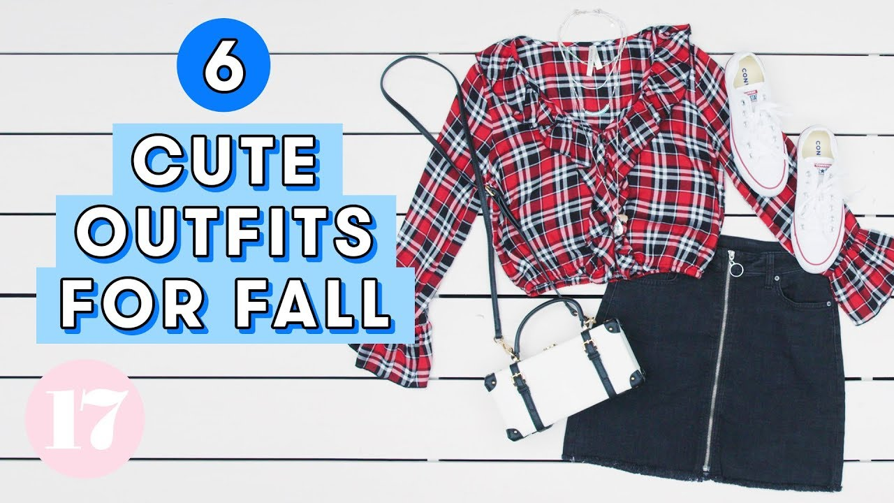 6 Cutest Outfits For Fall | Style Lab 5