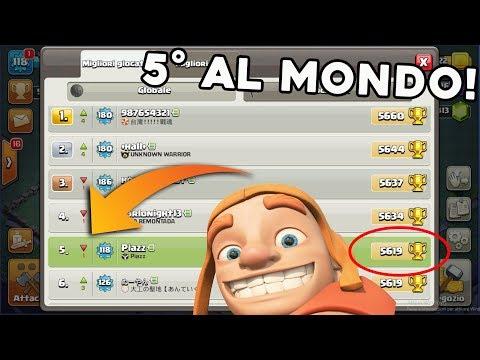 5570 COPPE, 5° al MONDO in LIVE! Arriviamo PRIMI? | Clash of Clans ITA