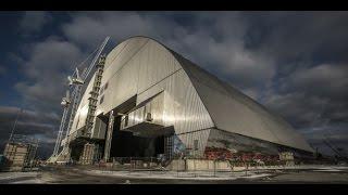 TIMELAPSE L'arche de confinement de Tchernobyl en place (HD)