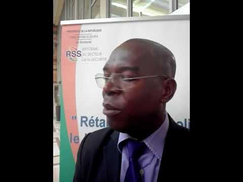 Ahonou Aristide président du Comité Civilo-Militaire (CCM) du District d'Abidjan parle..