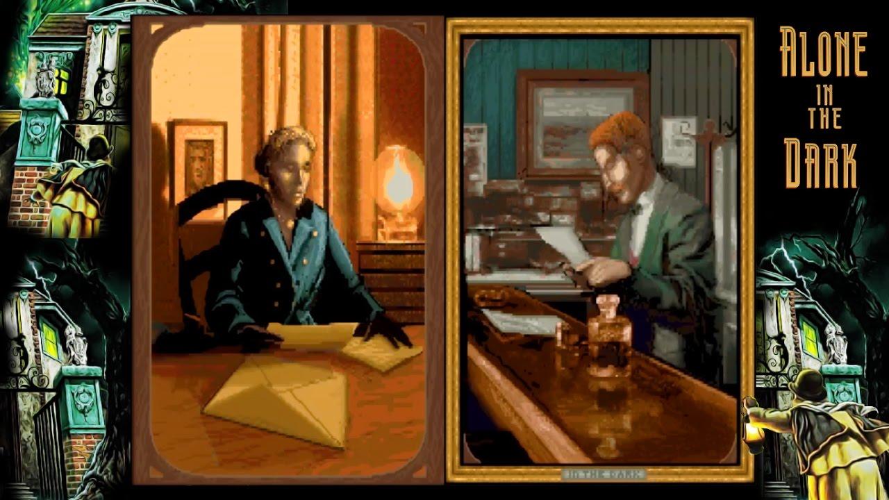Risultati immagini per alone in the dark 1 gameplay