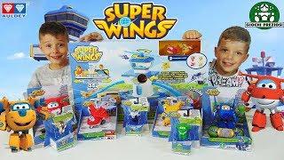 Super Wings Giochi Preziosi Παιχνίδια Αεροπλάνα Πύργος Ελέγχου Σετ διασκέδαση για παιδιά ελληνικά
