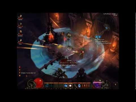 Diablo 3 Beta- Mutliplayer Gameplay @ Max Level - YouTube