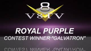 2011 SEMA Video Coverage - Royal Purple Show It Off Winner 2 GALVATRON