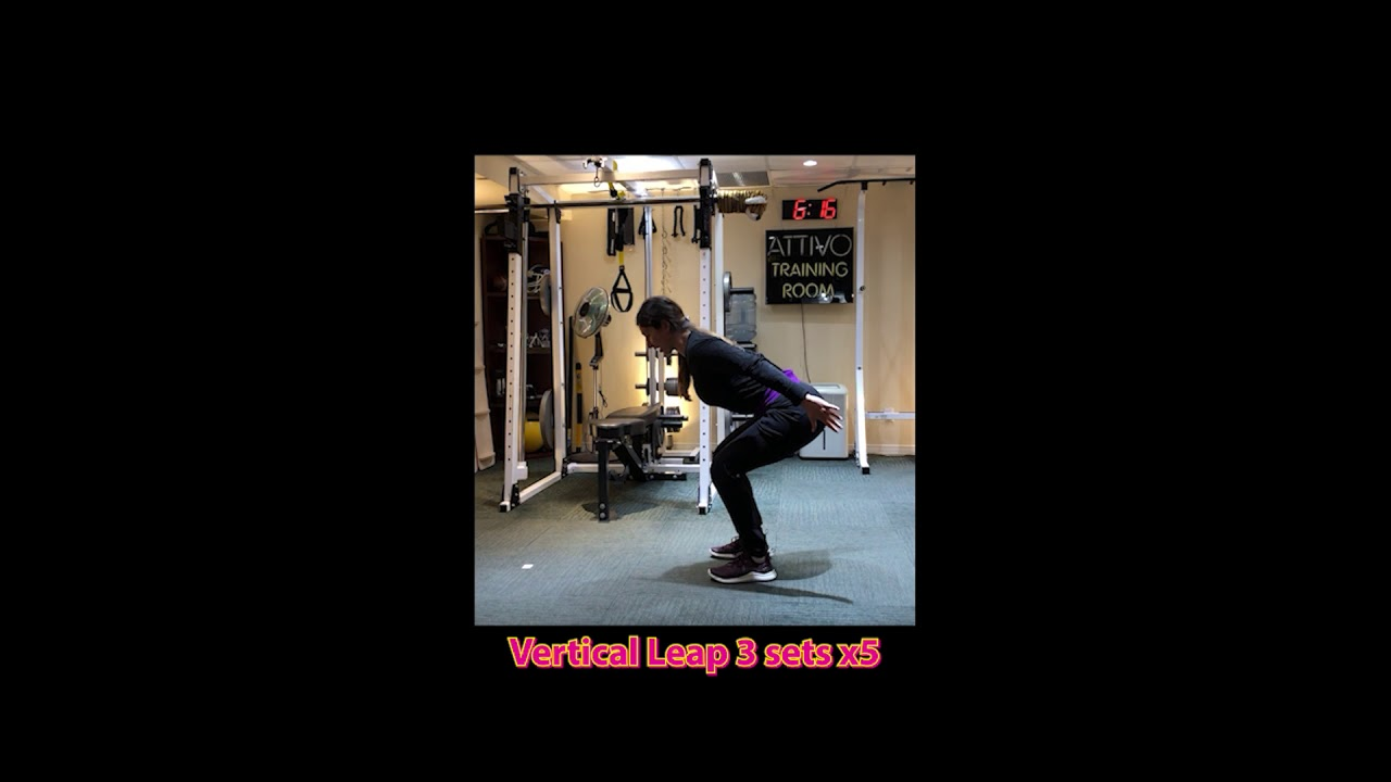 Home Workout Series 2: Strength and Power