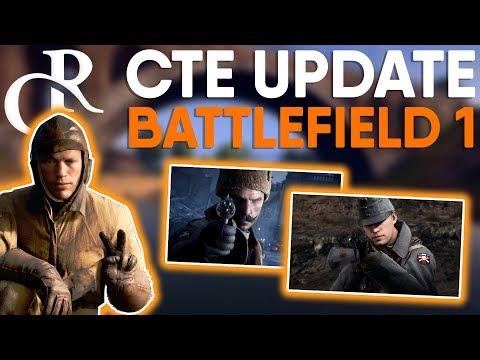 NEW CTE UPDATE RELEASED! - Battlefield 1 News thumbnail