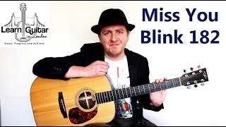 I Miss You - Guitar Tutorial - Blink 182 - How To Play Unison Chords