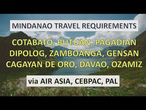 2021 TRAVEL REQUIREMENTS TO MINDANAO | ALL AIRLINES PASSENGER GUIDE 2021