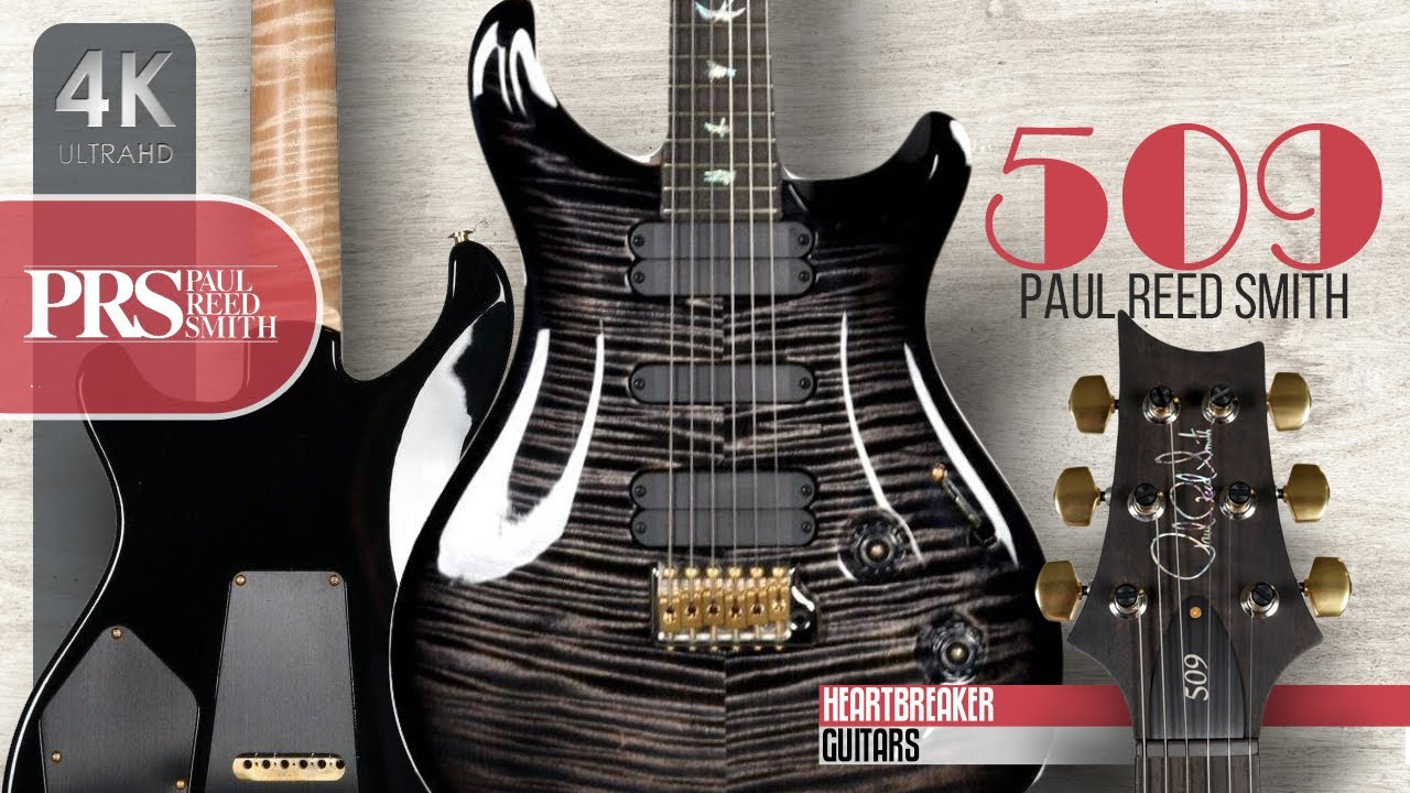 PRS 509 10-Top with Carved Figured Maple and Flamed Maple Neck
