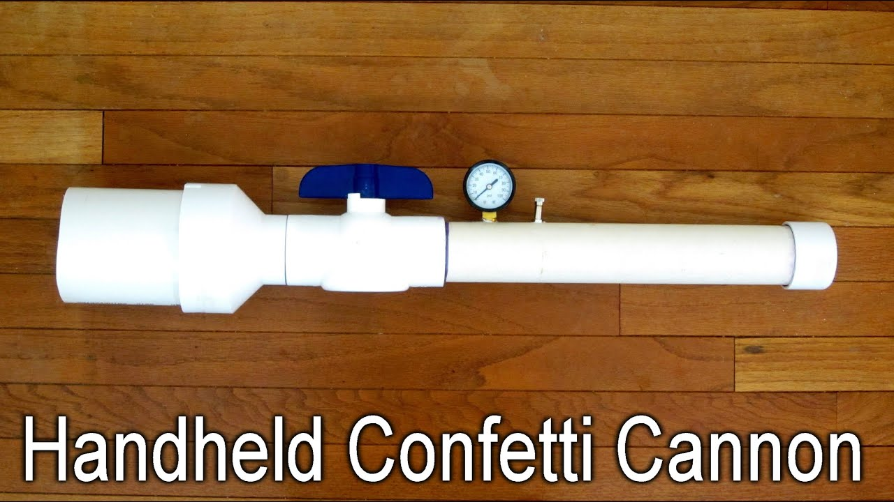 Homemade Confetti Cannon 114