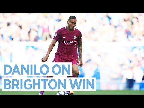 DANILO MAKES A WINNING DEBUT!    Brighton 0-2 City