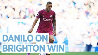 DANILO MAKES A WINNING DEBUT! |  Brighton 0-2 City
