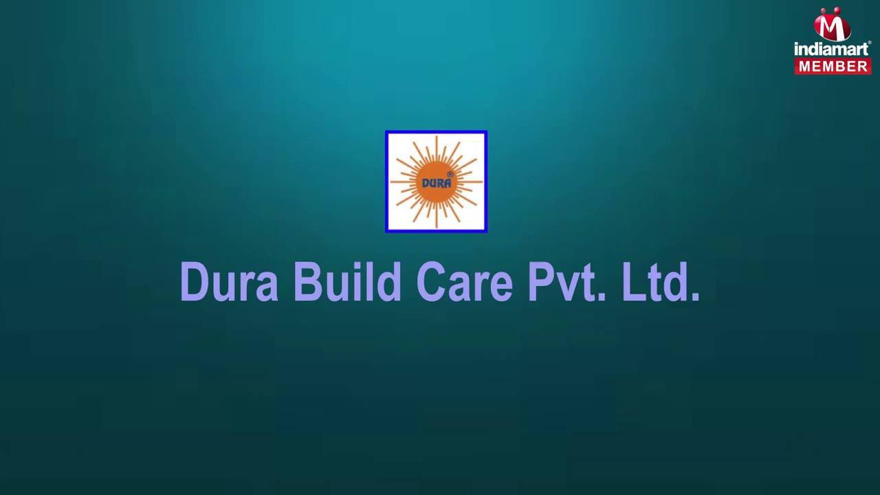 water proofing grouting compound by dura build care pvt ltd new delhi youtube. Black Bedroom Furniture Sets. Home Design Ideas